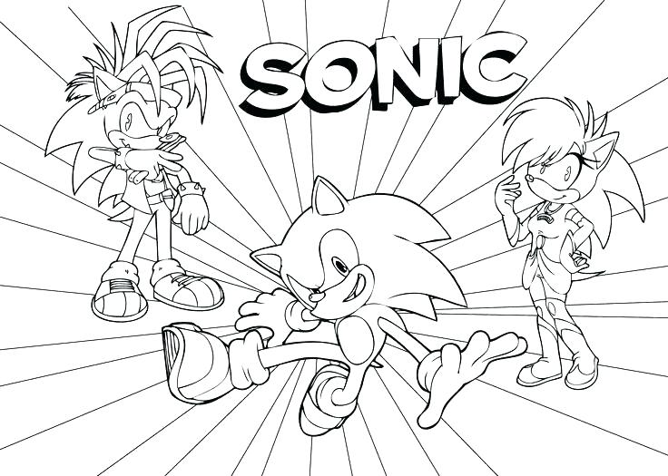 736x525 Sonic Coloring Picture Sonic Coloring Sheet Colors Coloring Pages