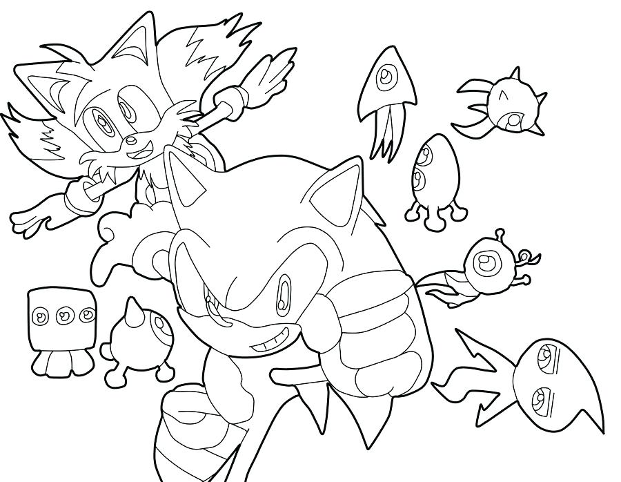 900x698 Sonic Colors Coloring Pages To Print
