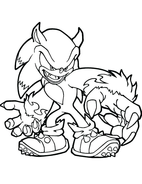 Sonic Exe Coloring Pages at GetDrawings com | Free for personal use