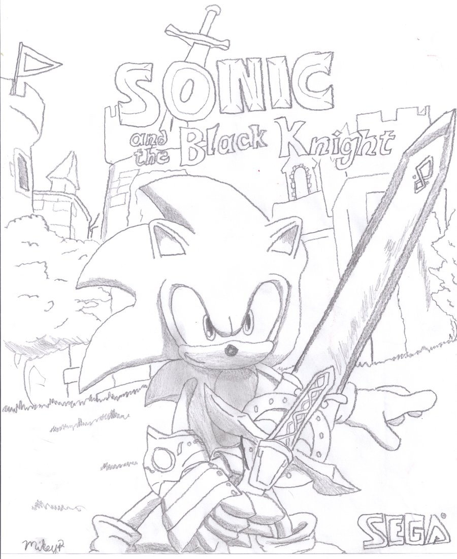 900x1100 Knight Coloring Pages Sonic And The Black Knight Coloring Pages