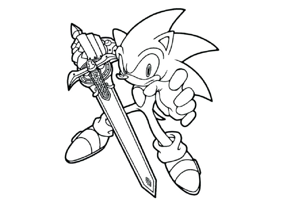 909x650 Sonic Black Knight Coloring Pages Cartoon Knight Sonic Black