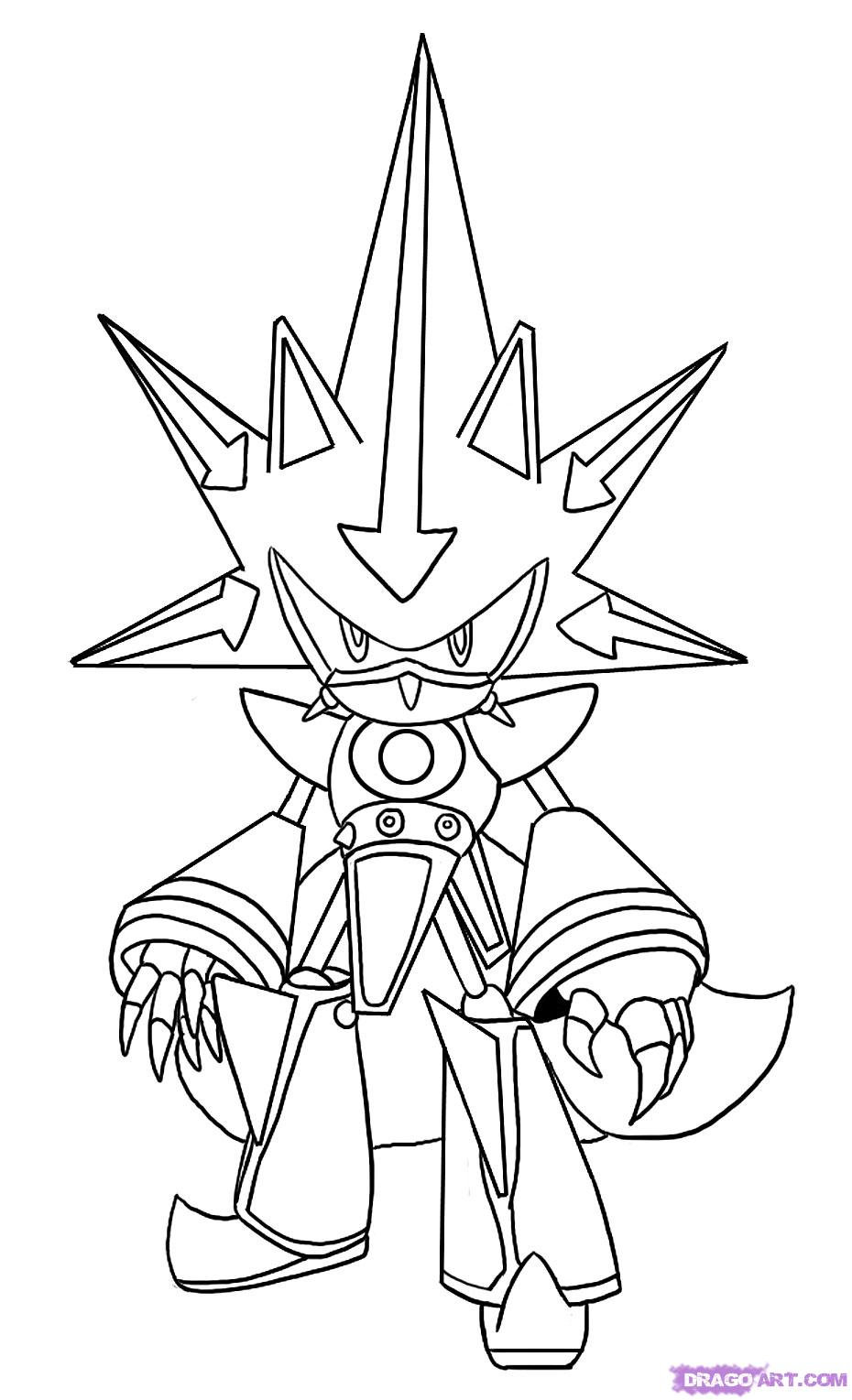 930x1529 Super Sonic Coloring Pages To Download And Print For Free