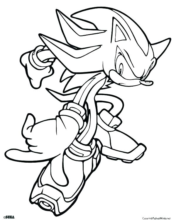 600x759 Sonic Tails Coloring Pages Kids Coloring Printable Sonic Coloring