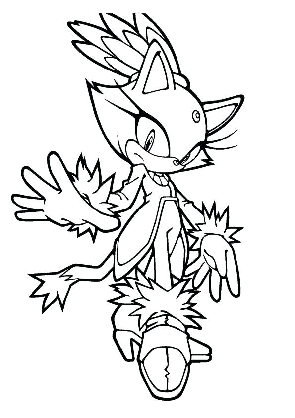 Sonic The Hedgehog Coloring Pages At Getdrawingscom Free For