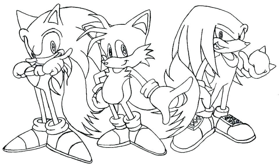960x574 Sonic Coloring Pages Printable New Sonic The Hedgehog Coloring