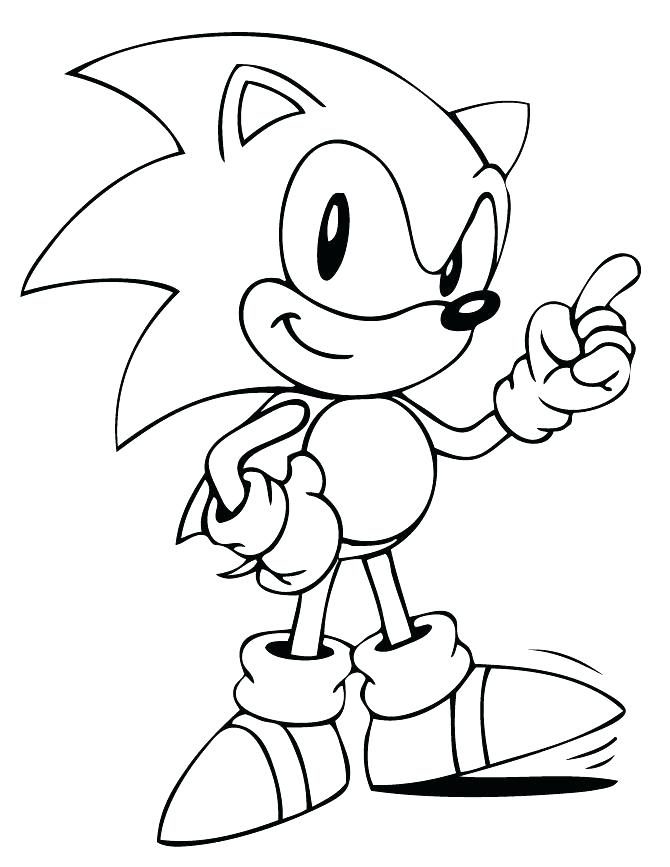 670x867 Sonic Hedgehog Coloring Pages Super Sonic Hedgehog Coloring Pages