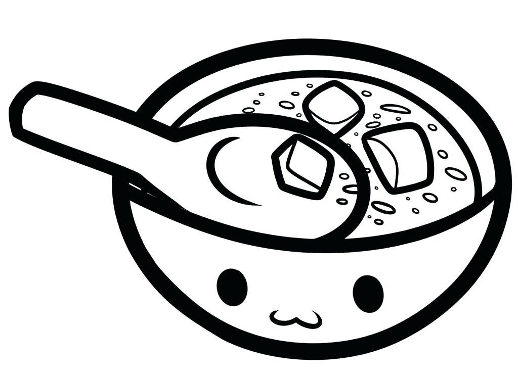 1024x744 Soup Coloring Pages Images Of Soup Pot Coloring Page Soup Clip