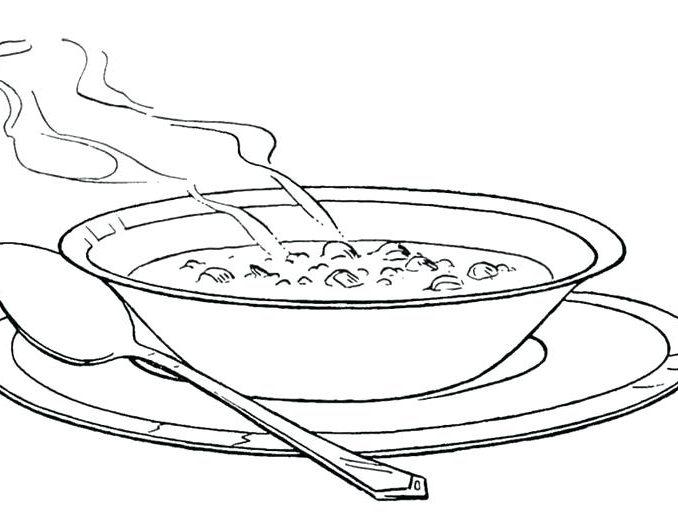 678x521 Soup Coloring Pages Stone Soup Coloring Page Soup Coloring Page