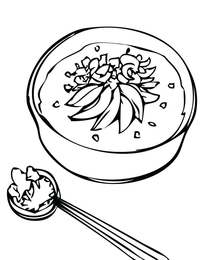 700x905 Stone Soup Coloring Page Chicken Soup With Rice Coloring Pages
