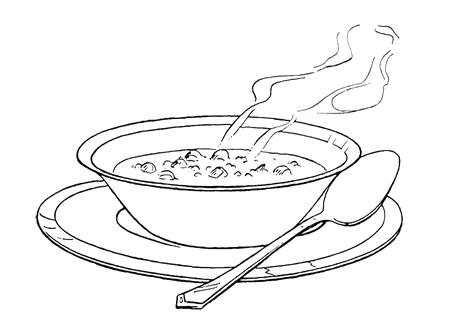 476x333 Food Coloring Pages Of Cartoon Soup Page Image Images Spaghetti