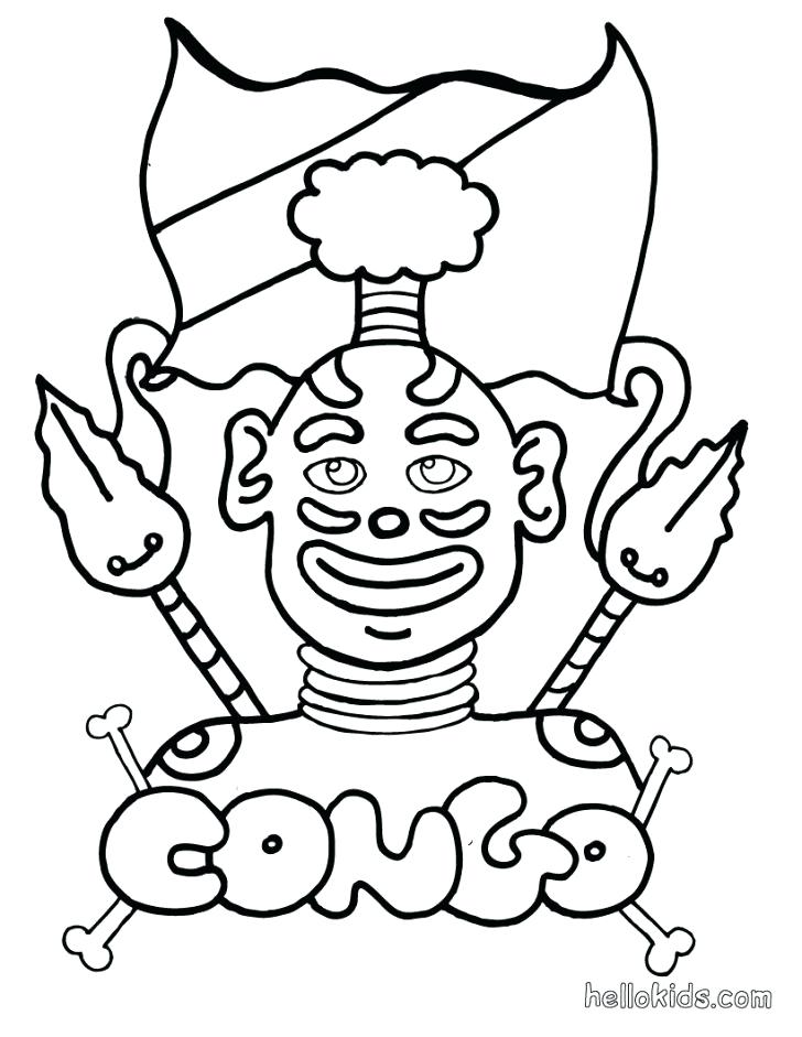 728x941 Africa Coloring Pages Fresh Coloring Pages For Map Of Coloring