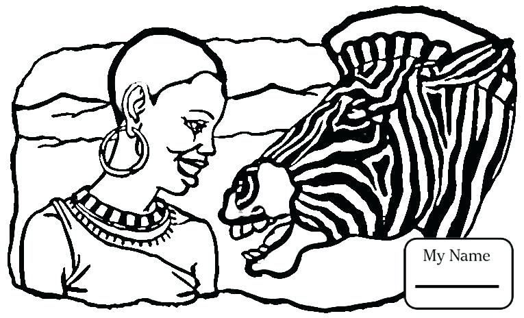 765x464 Africa Coloring Page Coloring Pages Symbols Countries Cultures