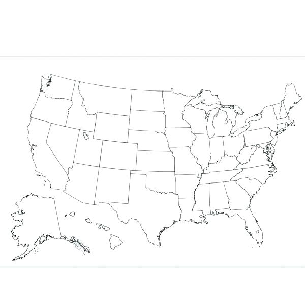 600x600 North America Coloring Map Geography Blog Map Of North Coloring