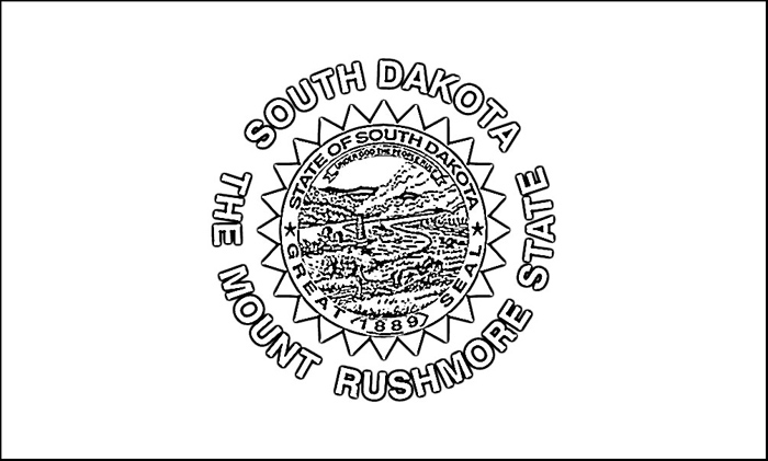 700x421 Amazing South Dakota State Flag Coloring Page Reviews Diy