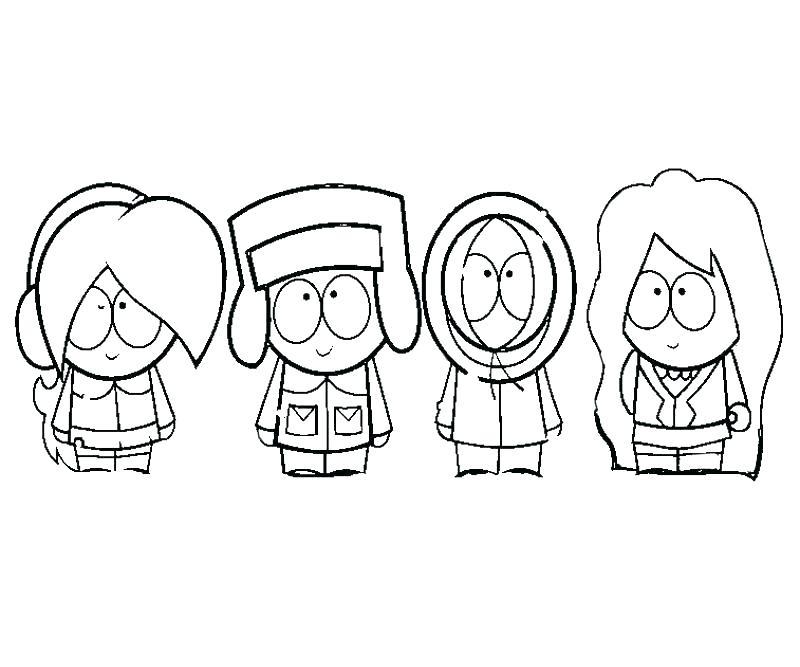 800x667 South Park Coloring Page South Park Coloring Page South Park