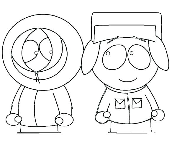 South Park Coloring Pages At Getdrawings Com Free For Personal Use