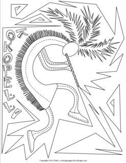 Southwest Coloring Pages