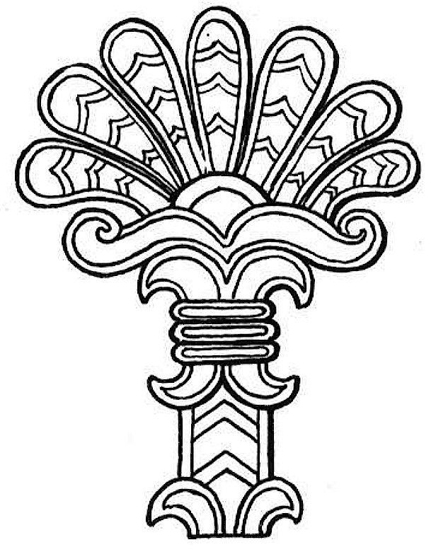 616x780 Free Printable Totem Patterns Southwestern Native American