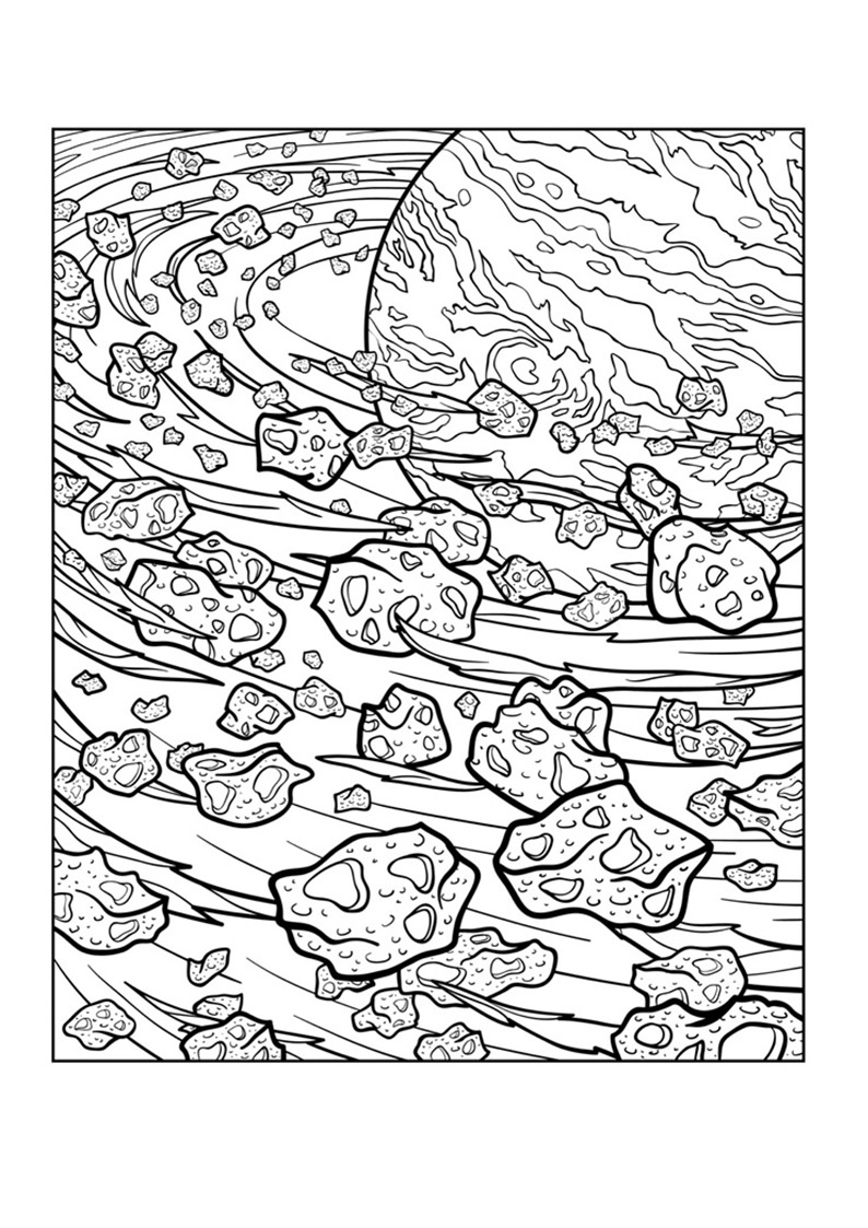 794x1123 Outer Space Adult Coloring Pages Collection Coloring Sheets
