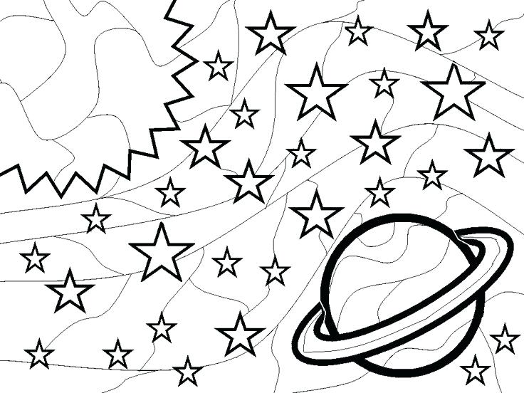 736x552 Space Coloring Page Outer Space Coloring Pages Outer Space
