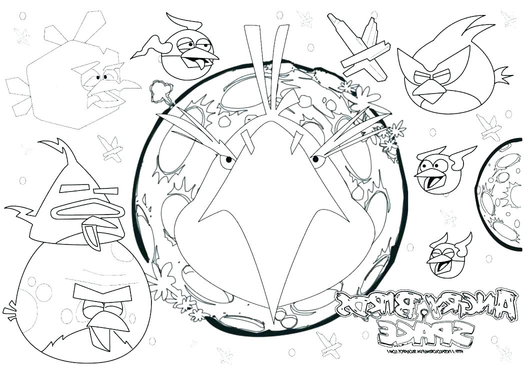 1048x740 Coloring Pages Space
