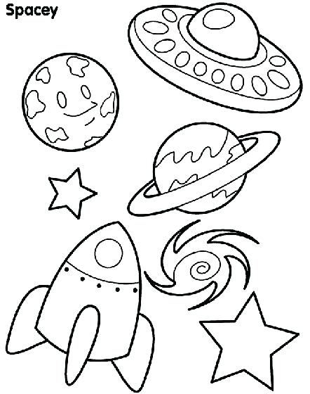 442x560 Free Coloring Pages To Print Kids Space Coloring Pages Free