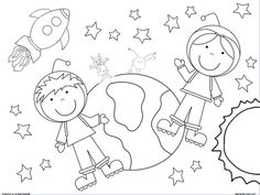 236x177 Space Coloring Pages Majestic Design
