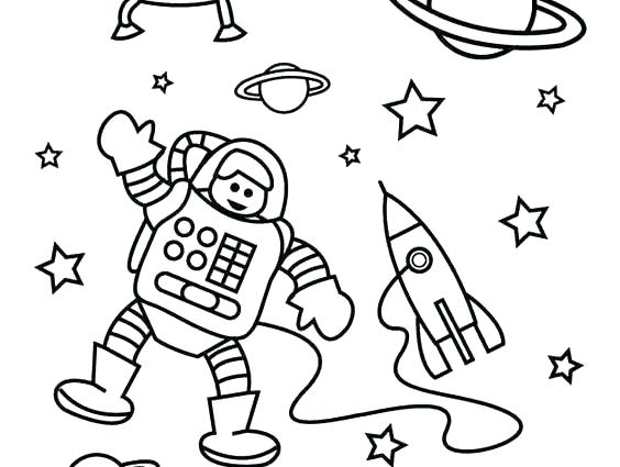 564x425 Space Coloring Page Boy Coloring Page Space Coloring Page Simple X