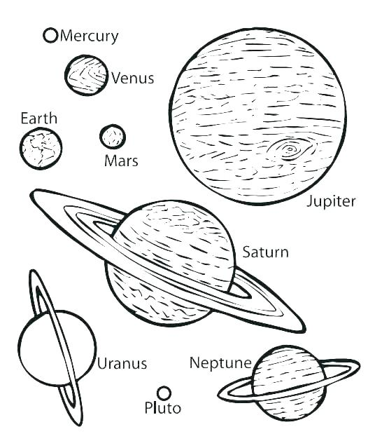536x639 Outer Space Themed Coloring Pages Icontent