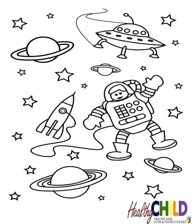 650x750 Space Coloring Pages For Preschoolers Space Coloring Page Solar