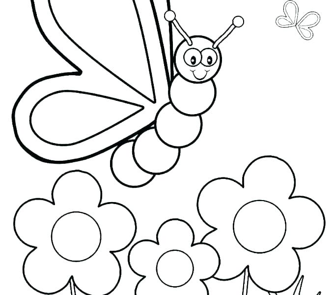 678x600 Color Pages For Preschoolers Coloring Angel Color Pages