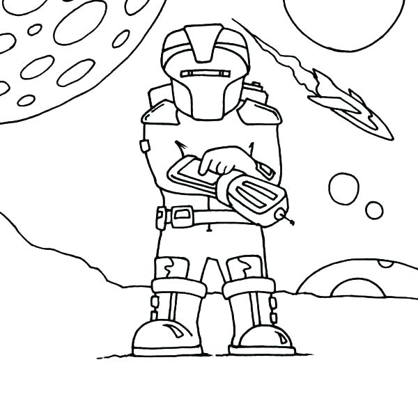 600x596 Outer Space Coloring Page Coloring Pages Space Outer Space