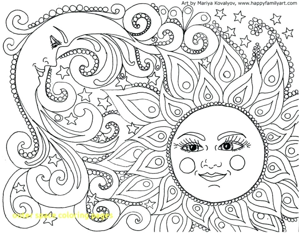 Space Coloring Pages Free Printable at GetDrawings.com ...