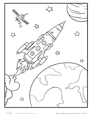 Space Coloring Pages Free Printable At Getdrawings Free Download