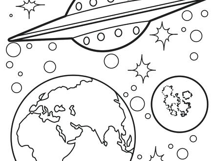 440x330 Space Jam Coloring Book Free Printable Space Coloring Space