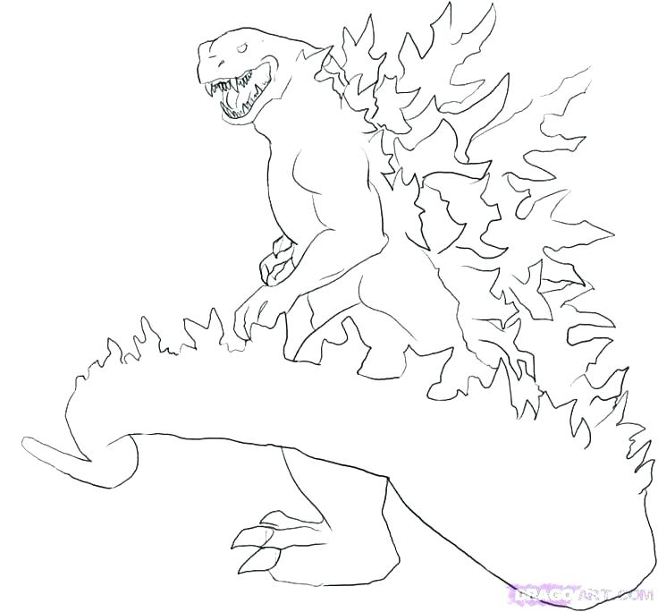 736x684 Godzilla Coloring Pages Coloring Page Coloring Pages Coloring Book