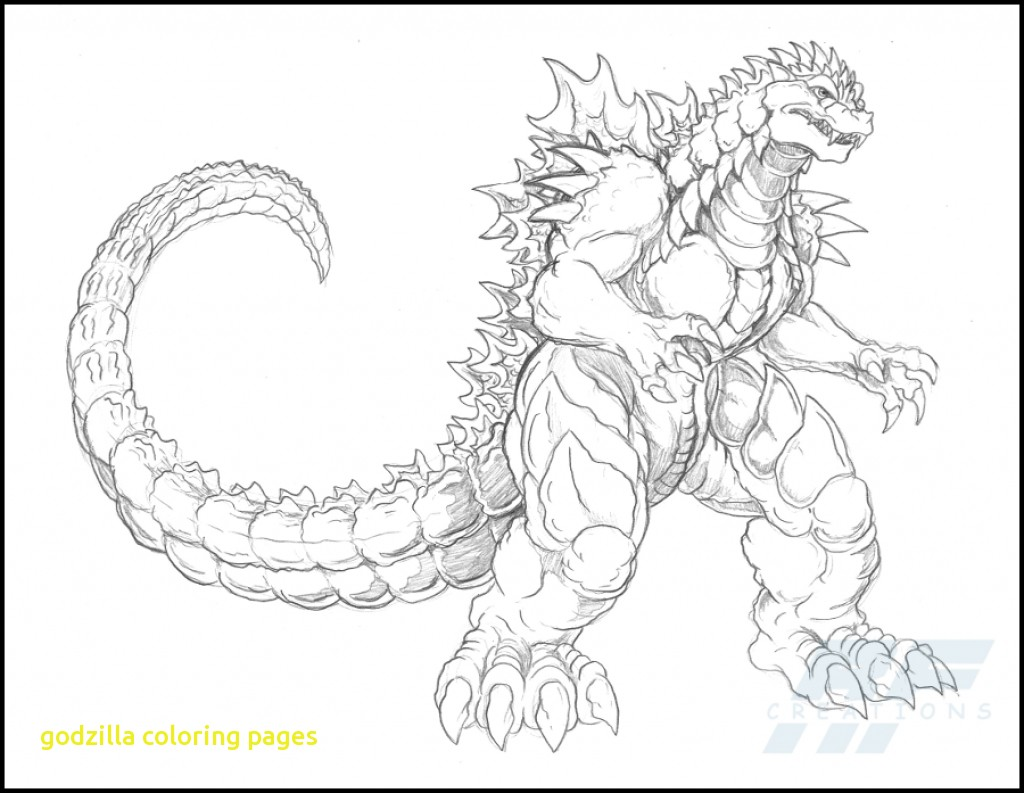 1024x793 Godzilla Coloring Pages With Space Godzilla Coloring Pages