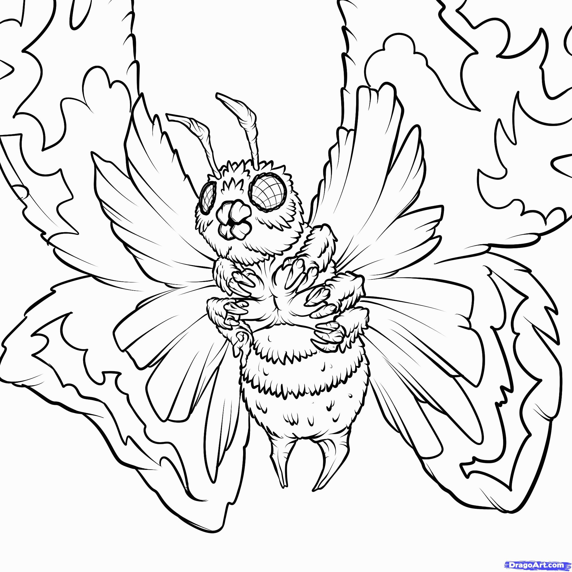 2000x2000 Baby Godzilla Coloring Pages Space