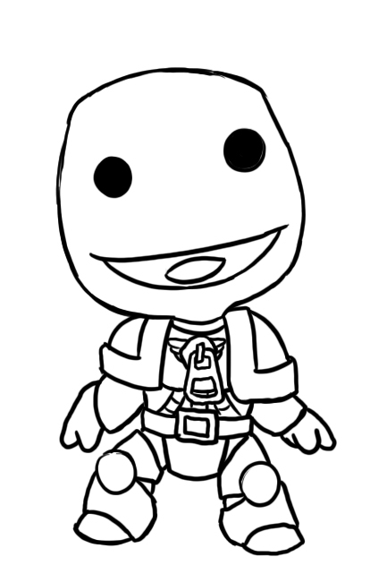 Space Marine Coloring Pages