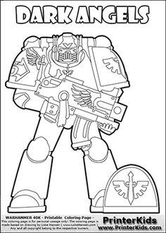 236x330 Coloring Page Showing A High Detail White Scars Space Marine