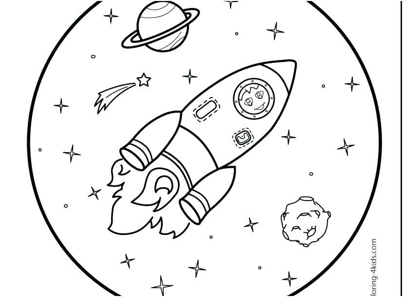 827x609 Rocketship Coloring Page Rocket Ship Coloring Page Rocket Coloring