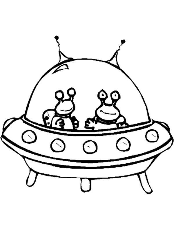 600x803 Alien Spaceship Coloring Pages
