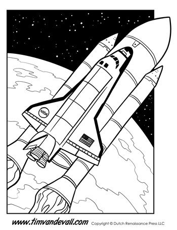 350x453 Printable Coloring Pages Featuring Pirates, Astronauts, Dragons