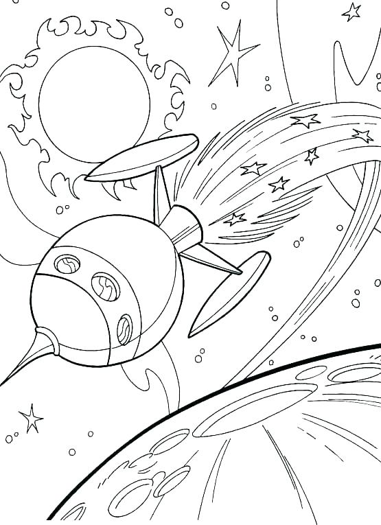 555x765 Space Coloring Page Space Shuttle Coloring Page Space Coloring