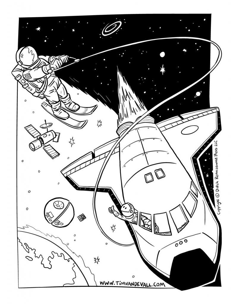 791x1024 Space Shuttle Coloring Pages