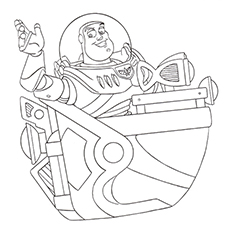 Spacecraft Coloring Pages
