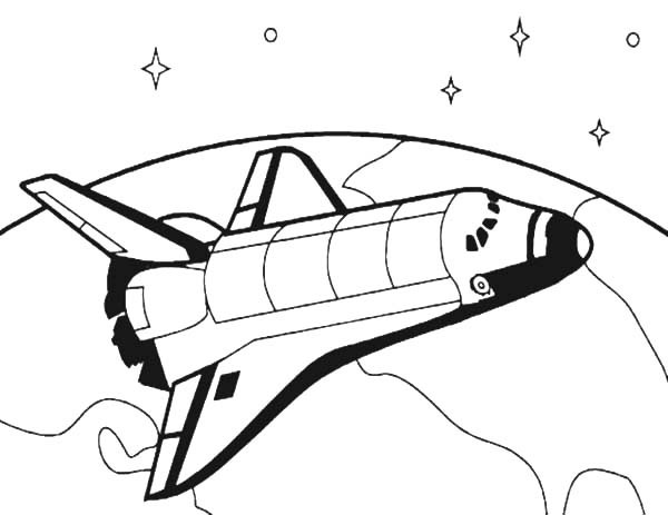 600x463 How To Draw Spacecraft For Space Travel Coloring Pages Best