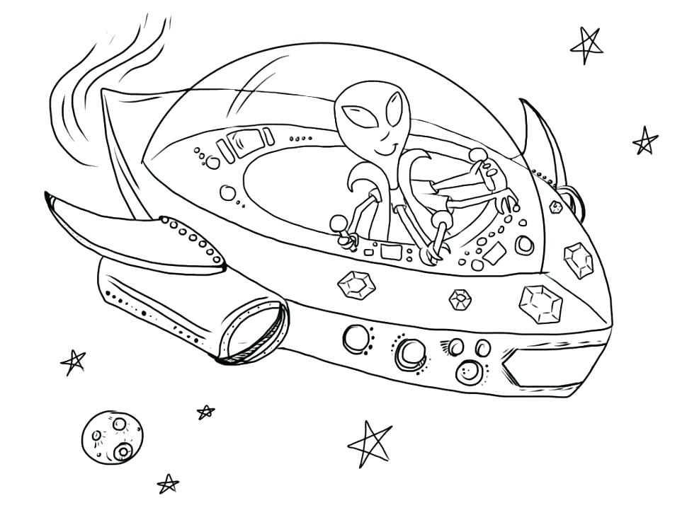 970x728 Alien Coloring Pages Fantasy Mythology Alien Alien Spaceship