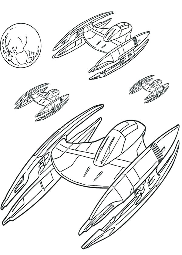 600x840 Star Wars Spaceship Colouring Pages Space Ship Coloring Page