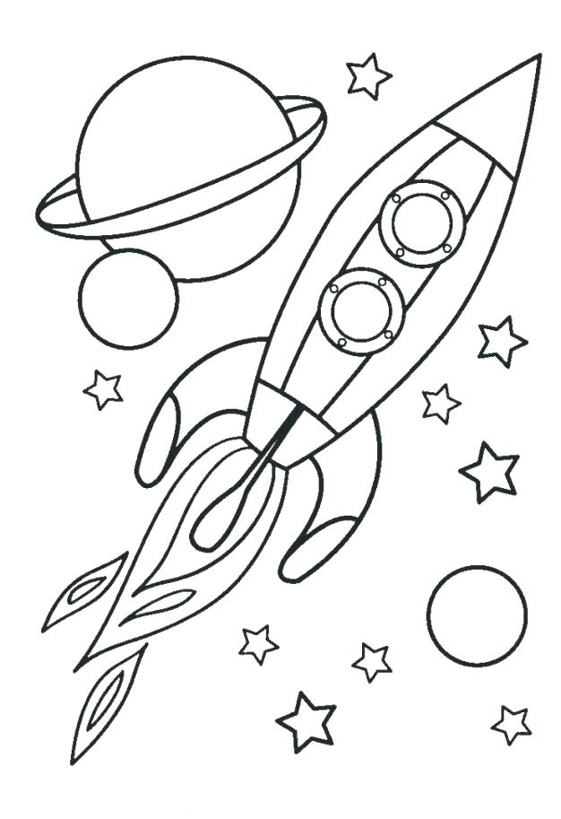 626x913 Space Ship Coloring Pages